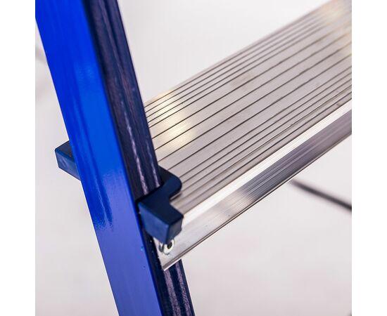 Стремянка Stairs двухсторон. металлическая СS202 фото, изображение 4