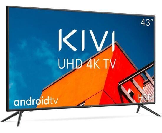 4K UHD Телевизор Smart 43 дюйма KIVI 43U710KB, изображение 3