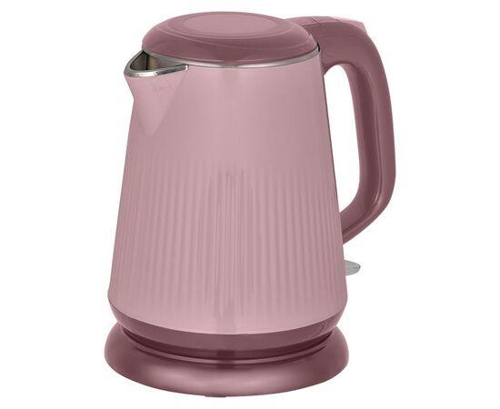 Эл.чайник Аксинья КС-1030 розовый/коричн фото