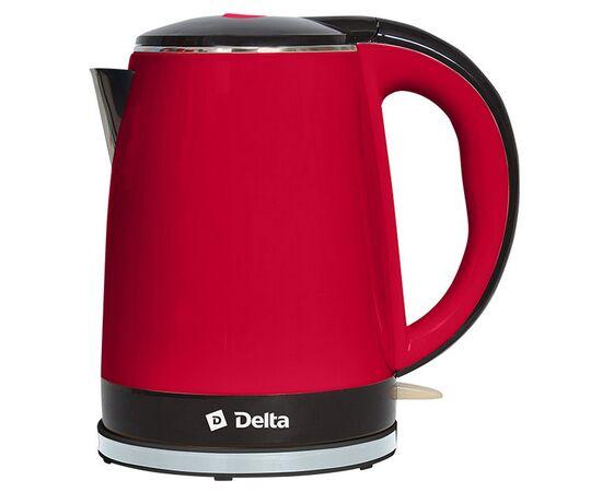 Электрический чайник DELTA DL-1370 с двойными стенками фото