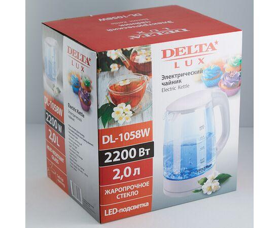 Электрочайник DELTA LUX DL-1058W фото, изображение 2