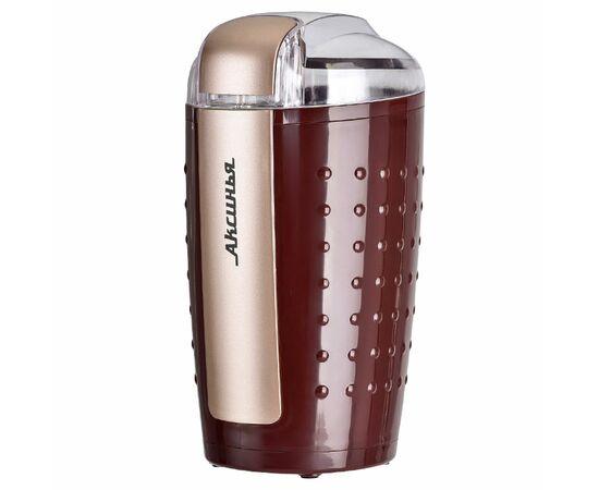 Кофемолка Аксинья КС-602 коричневая фото