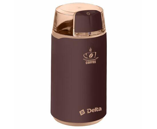 Кофемолка DELTA DL-087К коричневая, 250Вт фото