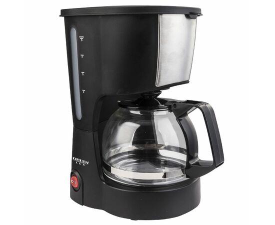 Кофеварка капельная DELTA LUX DL-8161 черная фото