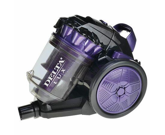 Пылесос DELTA DL-0830 фиолетово-черный фото