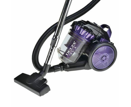 Пылесос DELTA DL-0830 фиолетово-черный фото, изображение 2