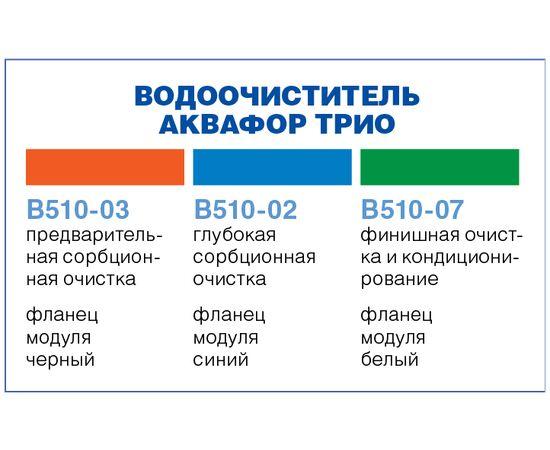 Комплект картриджей Аквафор В510-03-02-07 фото, изображение 4