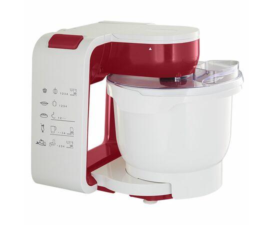 Кухонный комбайн DELTA LUX DL-7500PV белый-бордо фото