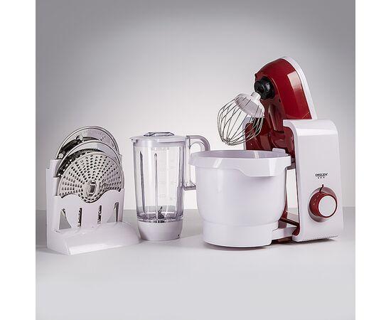 Кухонный комбайн DELTA LUX DL-7500PV белый-бордо фото, изображение 7