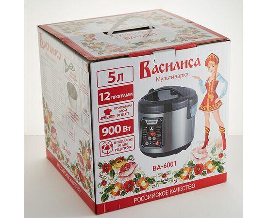 Мультиварка Василиса ВА-6001, 5 л, 12 программ + книга рецептов фото, изображение 7