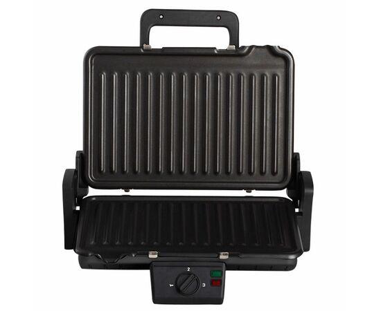 Сендвич-гриль DELTA LUX DL-050B черный, 34x22см фото, изображение 2
