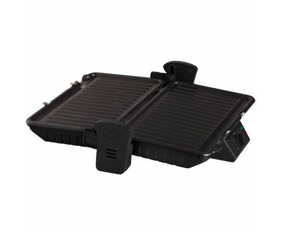 Сендвич-гриль DELTA LUX DL-050B черный, 34x22см фото, изображение 3
