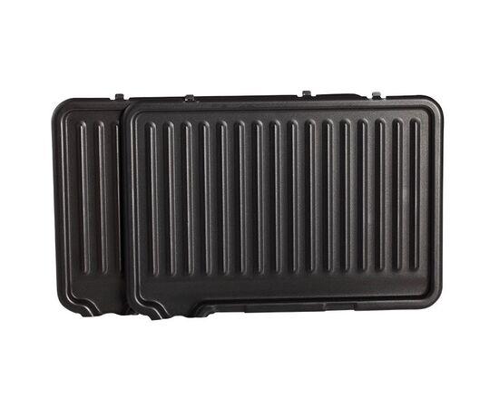 Сендвич-гриль DELTA LUX DL-050B черный, 34x22см фото, изображение 7