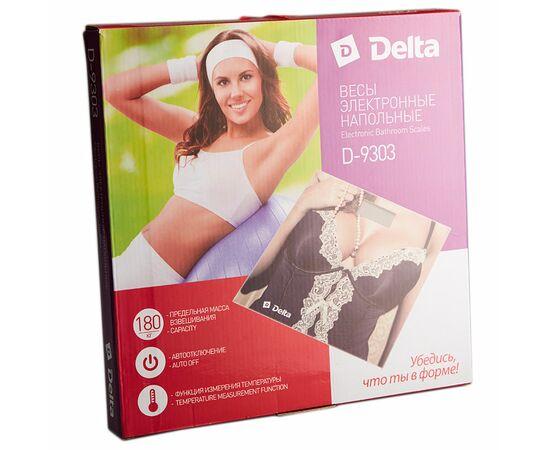 Весы напольные DELTA D-9303 Кутюр фото, изображение 2