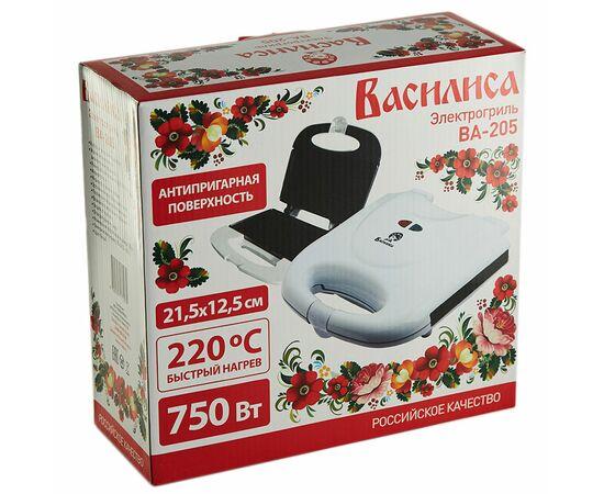 Сендвич-гриль Василиса ВА-205 белый фото, изображение 4