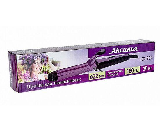 Щипцы для волос (плойка) Аксинья КС-807, изображение 3