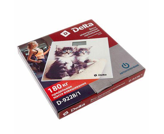 Весы напольные DELTA D-9228/1 Котята фото, изображение 2