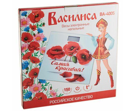 Весы напольные Василиса ВА-4005 Самая красивая фото, изображение 2