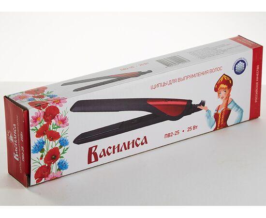 Выпрямитель (утюжок) для волос Василиса ПВ2-25, изображение 2