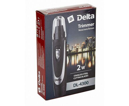 Триммер DELTA DL-4300 черный с серебристым фото, изображение 4