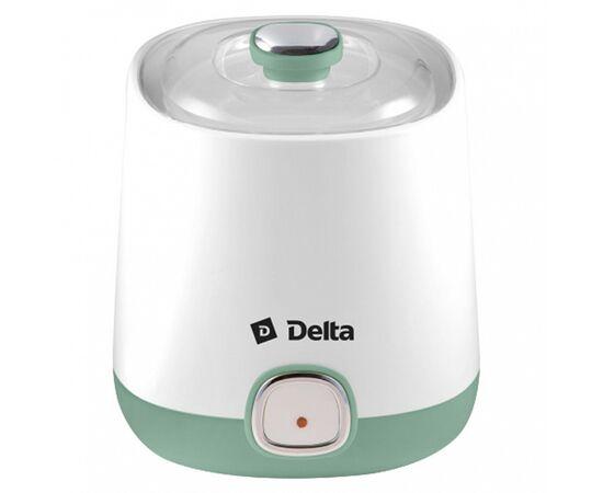 Йогуртница DELTA DL-8400 белая/серо-зеленая фото, изображение 3