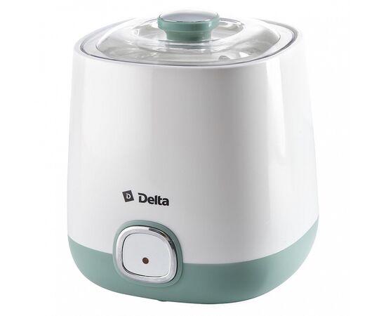 Йогуртница DELTA DL-8400 белая/серо-зеленая фото, изображение 4
