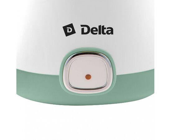 Йогуртница DELTA DL-8400 белая/серо-зеленая фото, изображение 5