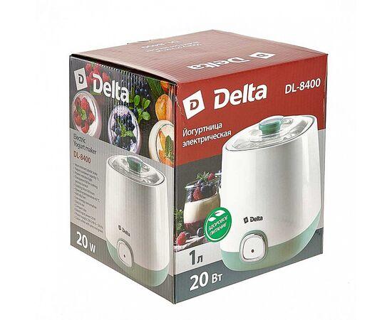 Йогуртница DELTA DL-8400 белая/серо-зеленая фото, изображение 9