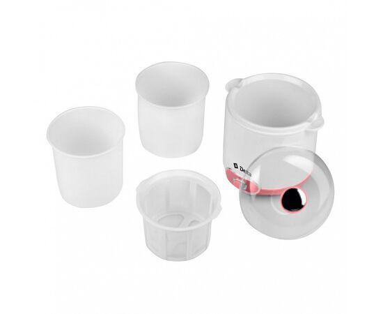 Йогуртница DELTA DL-8401 белая/розвая фото, изображение 4
