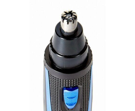 Триммер DELTA DL-4300 черный с синим фото, изображение 2