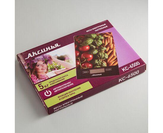 """Весы кухонные Аксинья КС-6500 """"Итальянская кухня"""" фото, изображение 2"""
