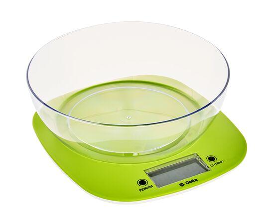 Весы кухонные DELTA КСЕ-32 зеленые фото