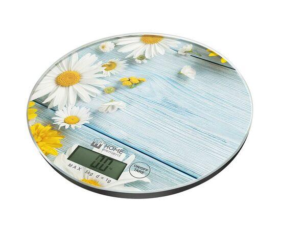 Весы кухонные Home Element HE-SC933 летние цветы фото