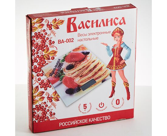 Весы кухонные Василиса ВА-002 Идеальная хозяйка фото, изображение 2
