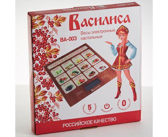 Весы кухонные Василиса ВА-003 Таблица калорий фото, изображение 2