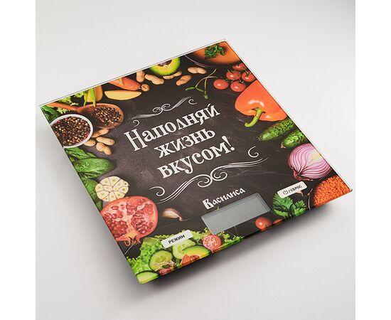 Весы кухонные Василиса ВА-009 Наполняй жизнь вкусом фото