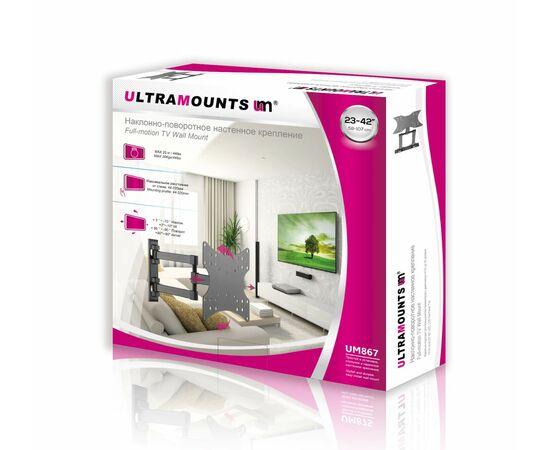 Кронштейн Ultramounts UM867 диагональ: 23-24 фото, изображение 2