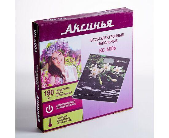 Весы напольные электронные Аксинья КС-6006 Гармония фото, изображение 2