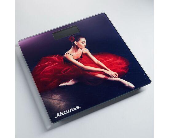 Весы напольные электронные Аксинья КС-6011 Балерина фото