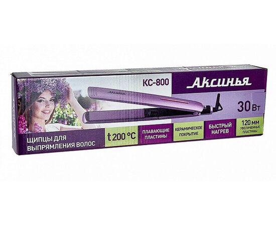Выпрямитель (утюжок) для волос Аксинья КС-800, изображение 4